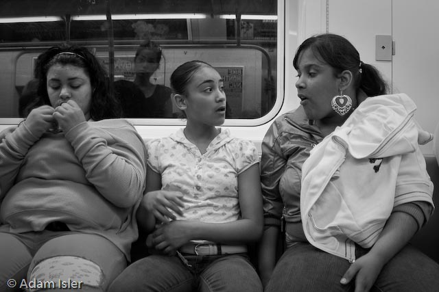 2 Train, New York. December, 2008.