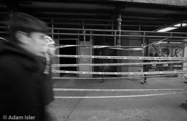 Broadway, Upper 70s, New York. January, 2009.
