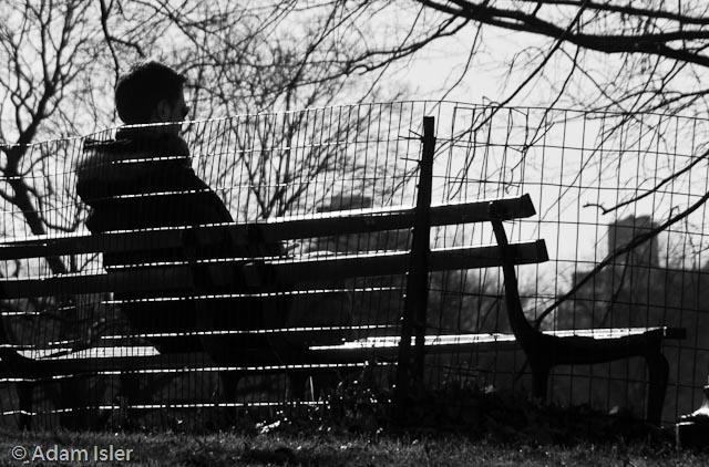 Central Park, New York. February, 2009.