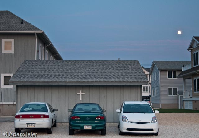 Evening Christian Parking