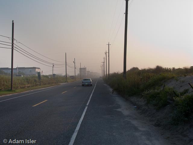 Landis Avenue on the road from Sea Isle to Strathmere