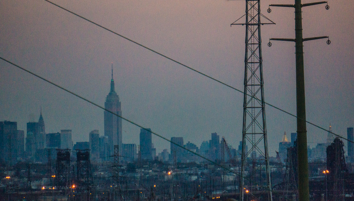 Manhattan from New Jersey Turnpike