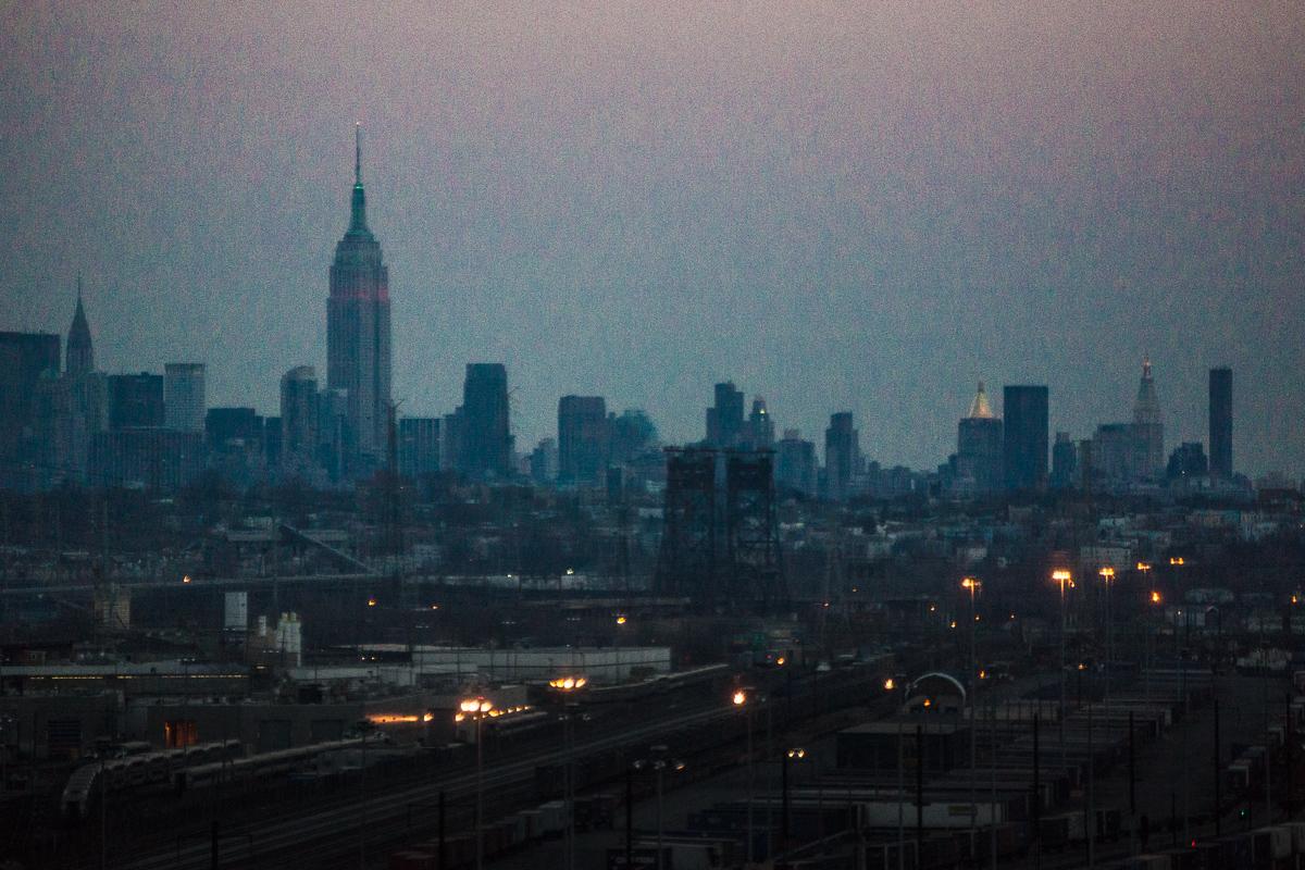 Manhattan from NJ Turnpike