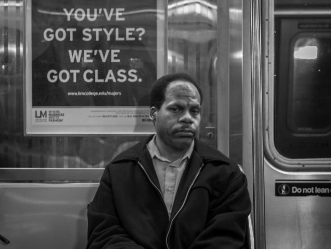 D train, New York