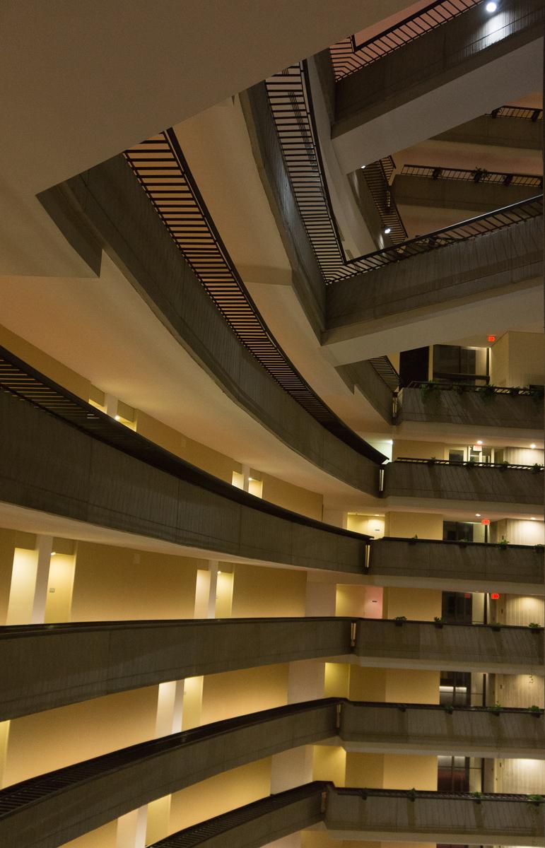 the M C Escher Hotel?