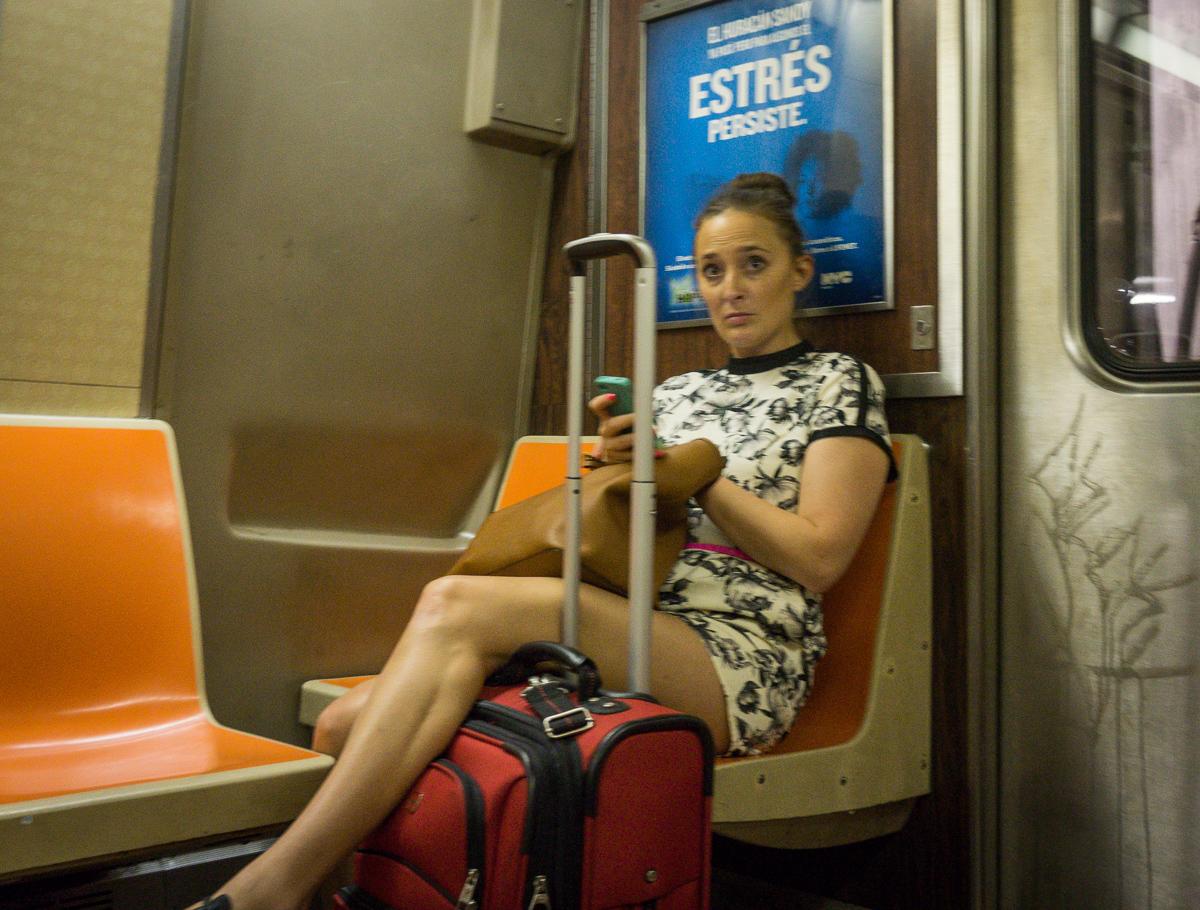 A train, New York