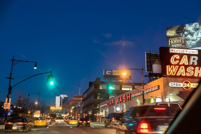 46th St and West Side Highway, New York