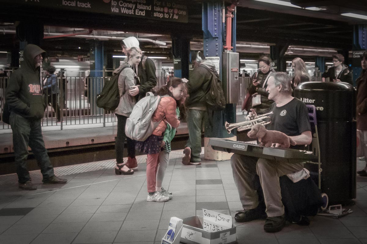 Columbus Circle subway station, New York