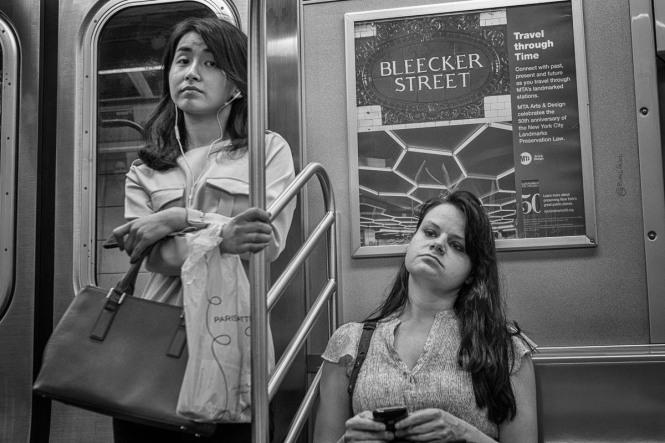 E train, New York