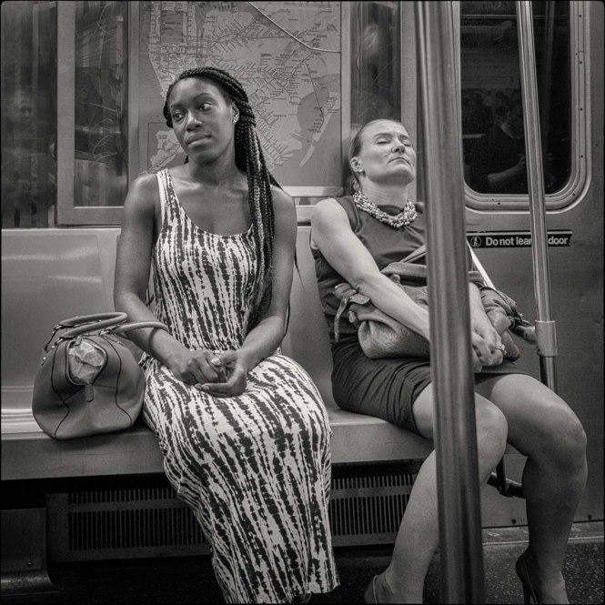 B train, New York