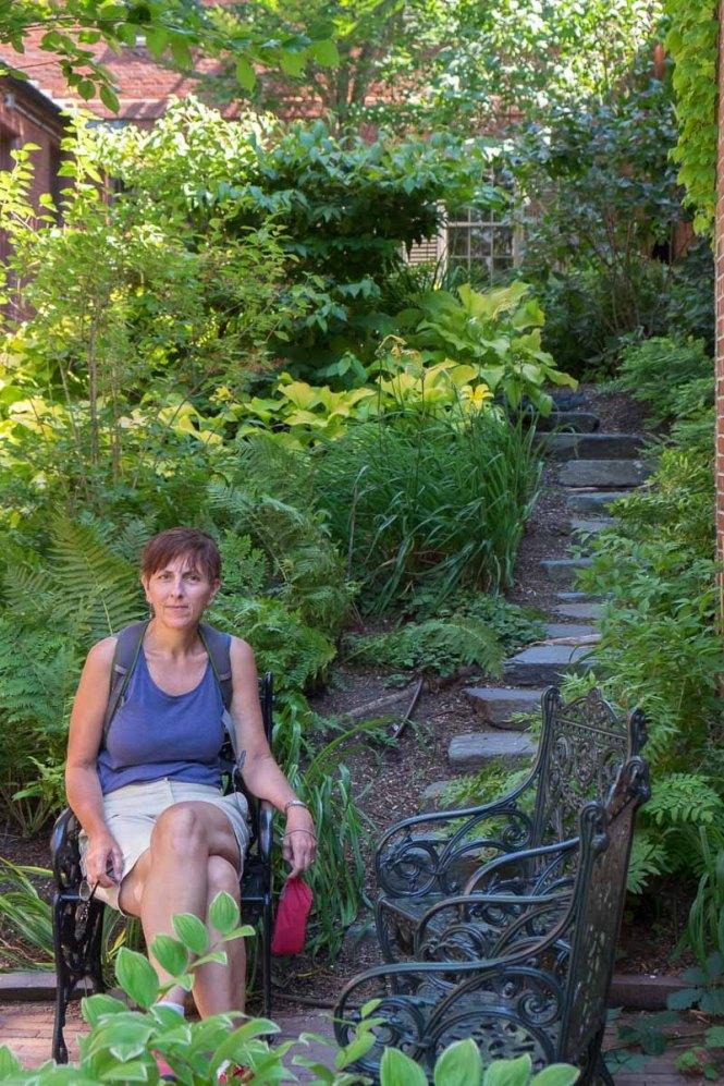 Longfellow Garden, Portland, Maine