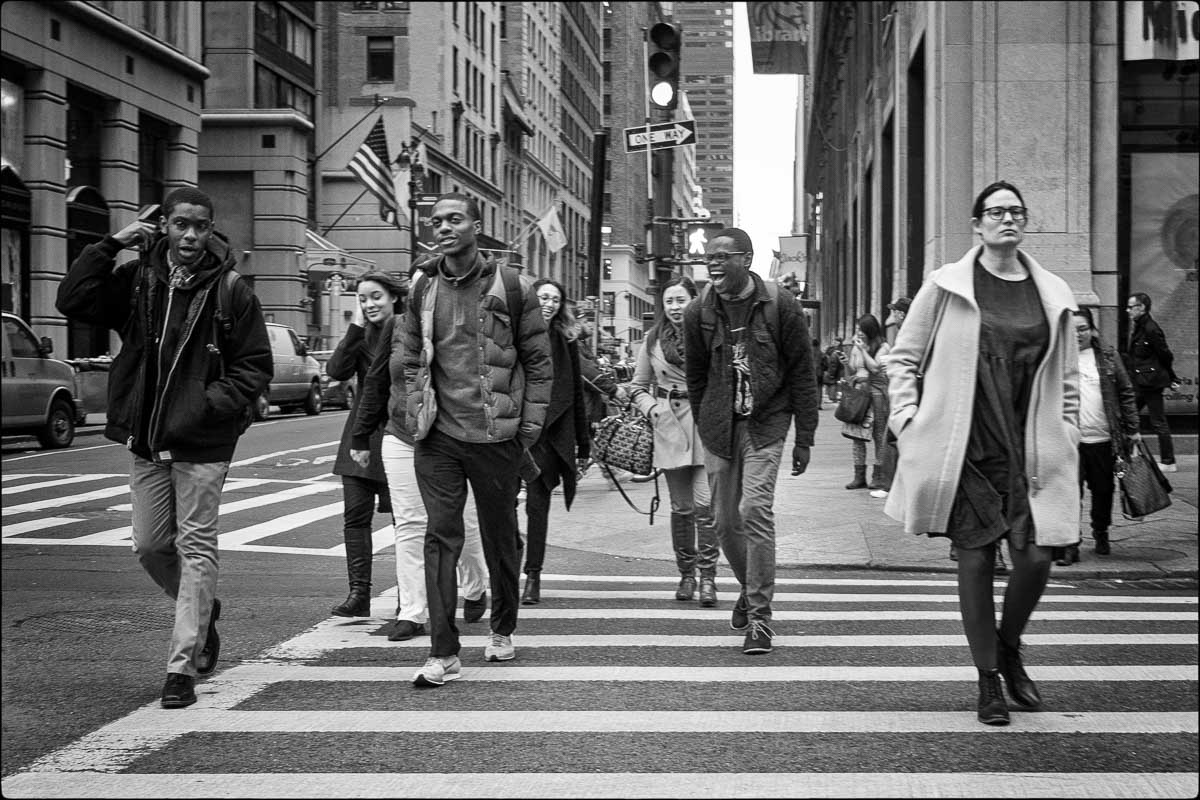 40th St and Fifth Avenue, New York