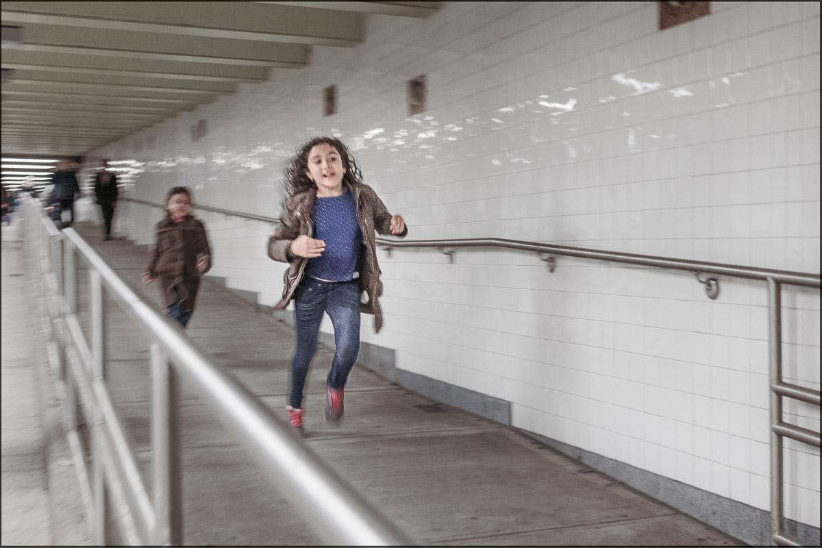 Chambers Street subway station, New York