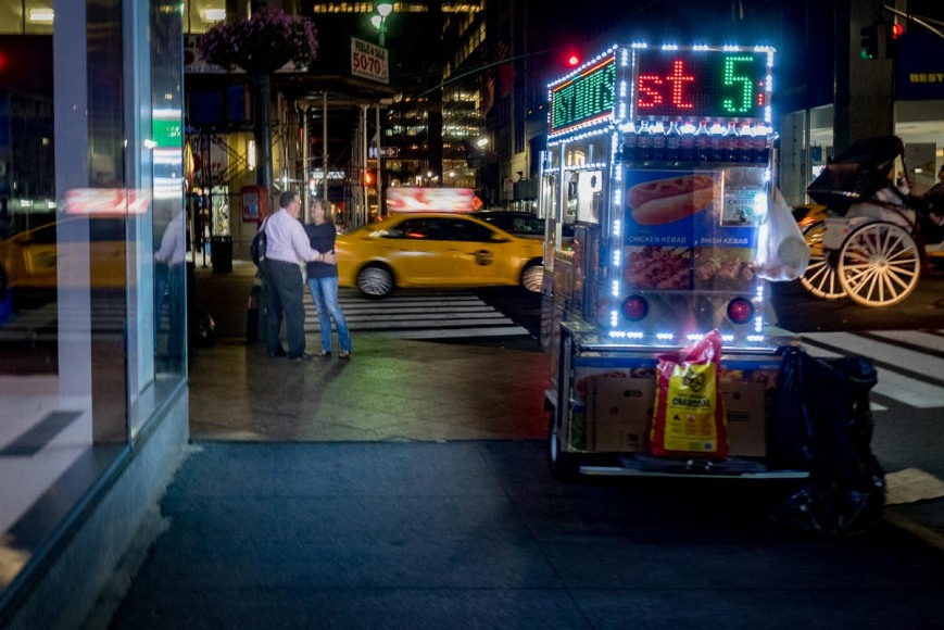 44th St and Sixth Avenue, New York