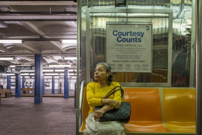 D train, Bronx, New York