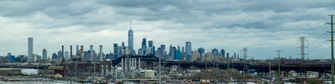 Manhattan from the New Jersey Turnpike