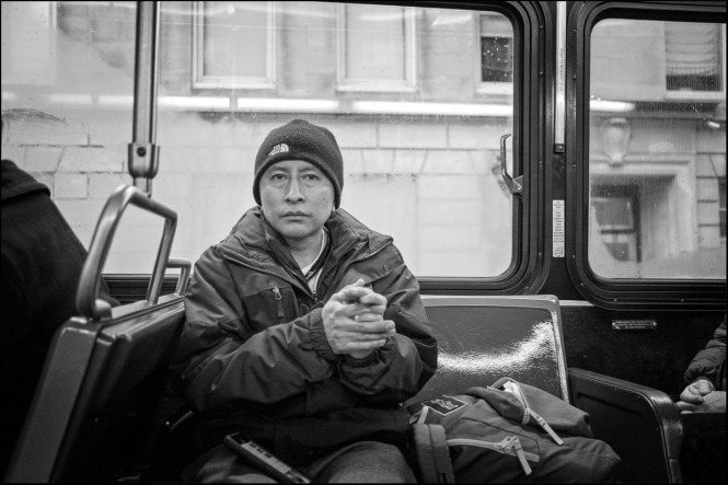 79th St crosstown bus, New York