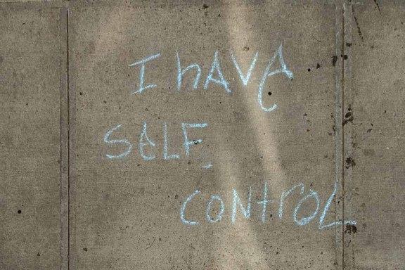 I have Self Control