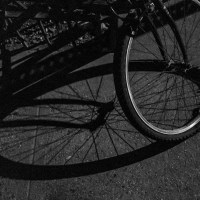 Bicycle Wheel, Night