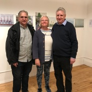 from R-L Peter, his wife Suzanne and older brother Jonathan