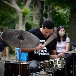 Drummer, Nasheet Waits